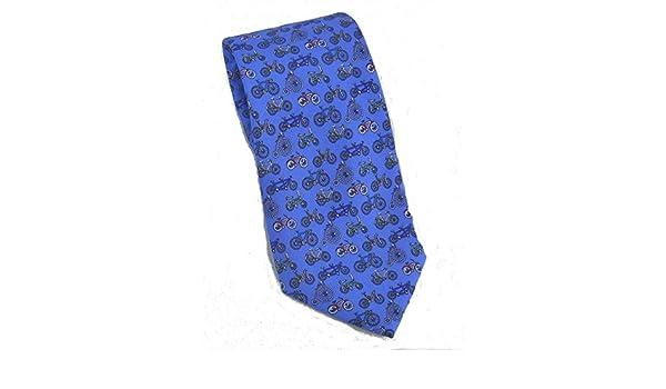 Corbata para hombre 100% seda azul cobalto Evolution of the ...