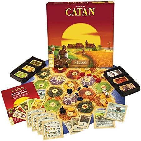Devir - Catan, juego de mesa (BGCATANPT) - Idioma portugués: Amazon.es: Juguetes y juegos