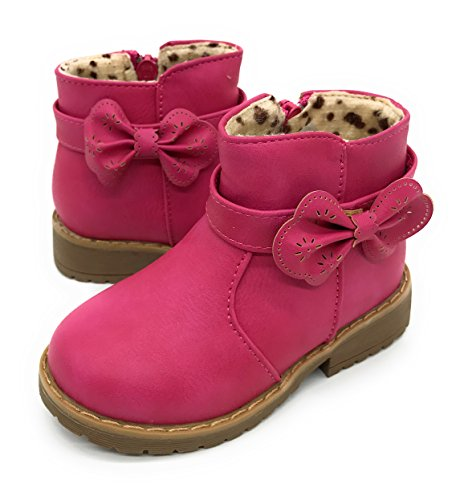 Tennis Shoe Boots For Girls (Blue Berry EASY21 Girls Fashion Cute Toddler/Infant Winter Snow Boots (9 M US Toddler,)