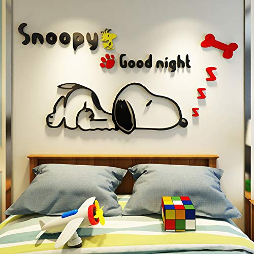 - CQMYG. Cartoon Animal Wall Stickers 3D Solid Wall Stickers Self-Adhesive. Environmental Protection. Can be Removed. Acrylic. Give The Child a Gift. Right Version one Black red 0.8x0.4m