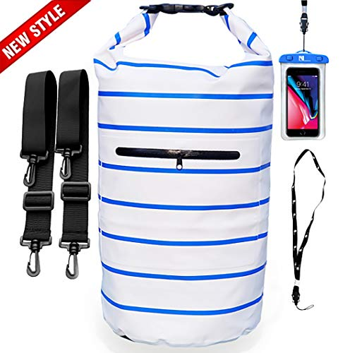 NVcompany Floating Waterproof Bag Sack - Dry Bag Kayaking Camping 20L Roll  Top Keeps Your Gear 0bcb12460a7c1