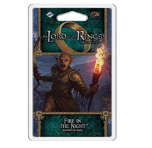 Fantasy Flight Games FFG Lord of The Rings LCG: Fire in The Night Toy