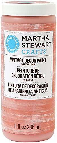 (Martha Stewart Vintage Decor Matte Chalk Paint: Terracotta, 8 oz)