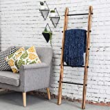 MyGift 5-ft Urban Rustic Wall-Leaning Wood