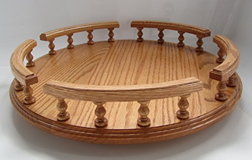 18in Condiment Server - Amish Handcrafted 18
