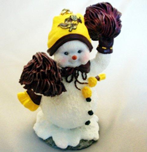 MINNESOTA GOPHERS FAN FOOTBALL BASKETBALL HOCKEY CHEERLEADER CHRISTMAS ORNAMENT (Gopher Hockey Hat)