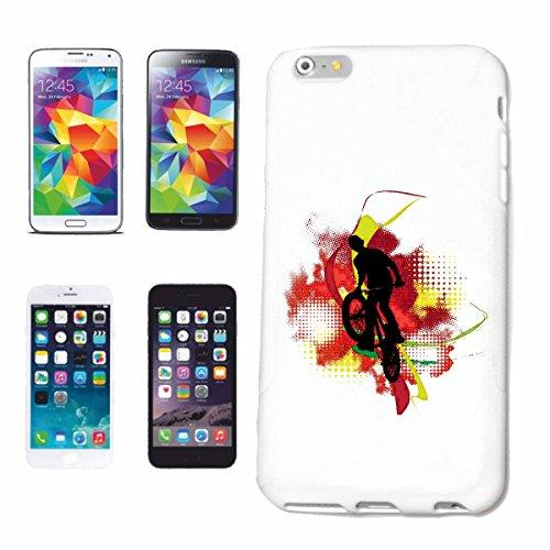 """cas de téléphone iPhone 7 """"BMX VÉLO VINTAGE MOTOCROSS BIKE FREESTYLE Chopper MOUNTAINBIKE"""" Hard Case Cover Téléphone Covers Smart Cover pour Apple iPhone en blanc"""