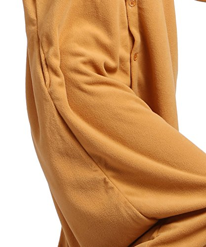 Animale Pigiama Kigurumi Fox Adulto Onesies Orange Unisex tA0vgqwn