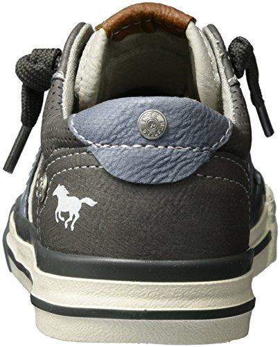 Grau Mustang 5024 Sneakers Basses 2 Enfant Mixte Gris 2 302 qzqrTHv