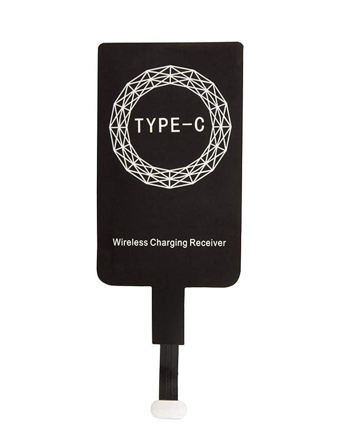 Receptor de Carga Inalámbrico/Ultra Fino Wireless Receptor/Qi Receptor Inalámbrico CARGA RÁPIDA compatible con QI para MICRO USB TYPE-C para Huawei ...