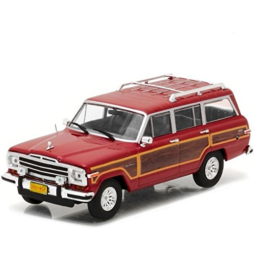 Greenlight 86499 Breaking Bad Skyler White's 1991 Jeep Grand Wagoneer 1:43 Scale Diecast - Jeep Wagoneer Toy