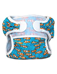 Bummis- Swimmi Cloth Diapers, Clown Fish, Medium (15-22 Lbs)