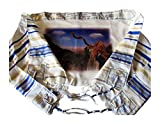 Blow the Shofar in Zion New Covenant Messianic Tallit and Matching Tallit Bag