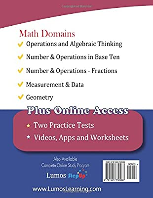 ISTEP+ Test Prep: 5th Grade Math Practice Workbook and Full-length ...