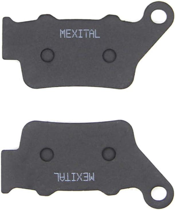 11-16 Non ABS 08-16 MEXITAL 1 Par Semi-met/álicos Pastillas de freno Delanteras para XT 660 Z Tenere/ ABS // XT 660 ZA Tenere/