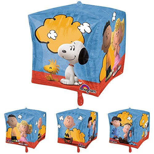 Mayflower BB77029 15 in. Peanuts Cubez Balloon -