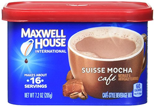 Maxwell House International Coffee Suisse Mocha Cafe, 7.2 Ounce