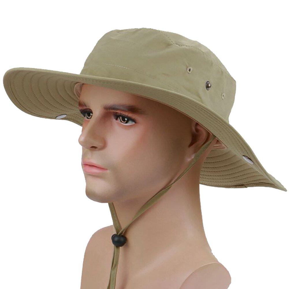 b5b9bd1df64 Peicees Fishing Hat Summer Sun Bonnie Hat UPF 50+ UV Protection Wide Brim  Cap Waterproof