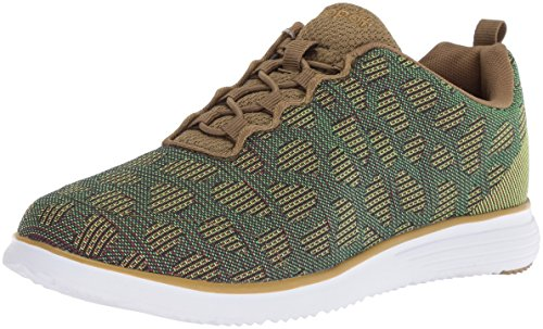 Propet Women's TravelFit Sneaker, Green, 10 Wide US