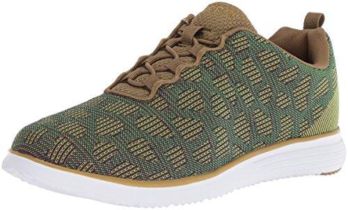 Propet Women's TravelFit Sneaker, Green, 9.5 Narrow US