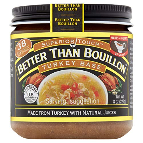 Better Than Bouillon Superior Touch Turkey Base 8oz ()