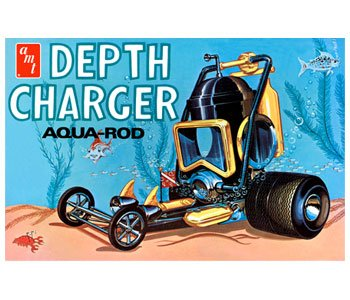 AMT Depth Charger Aqua-Rod 1/25 Scale Model Car - Custom Reissue Shop
