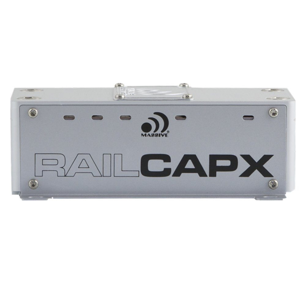 Massive Audio RailCap X - 4 Farad Lightning Fast Capacitor, Matched for DBX4, Primo Series Amplifiers. Direct Molex Connection to Rail Output Capacitor on PCB. Increases Headroom to Reduce Clipping