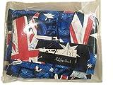 ALiberSoul Men's British Flag The Union Jack Print