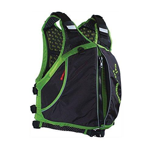 Extrasport Life Jackets (Extrasport Men's Evolve Life Jacket, Apple Green/Black, Small/Medium)