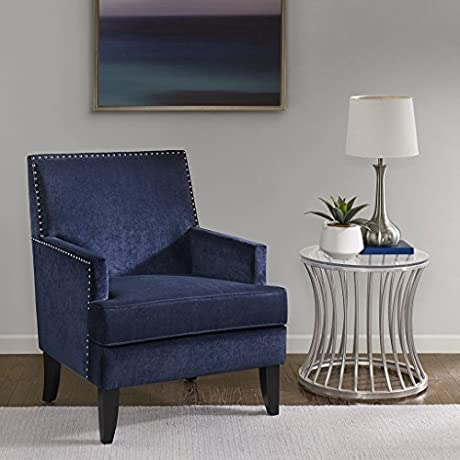Colton Track Arm Club Chair Navy See Below