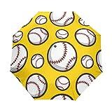 DOENR Compact Travel Umbrella Baseball Sun and Rain Auto Open Close Lightweight Portable Folding Umbrella