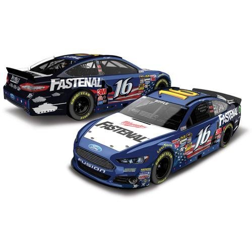 fle #16 Fastenal Heroes Hired Here an American Salute 1/24 Diecast Action Racing Collectible Lionel ()