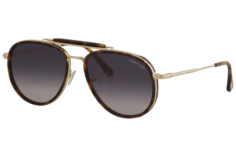 Sunglasses Tom Ford FT 0666 Tripp 54W red havana/gradient blue