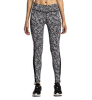 Showtime Women Printed Compression Pants Drawstring Skin Tights with Cutouts