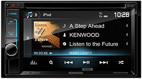 Kenwood DDX4017DAB 15,7 cm Doppel-DIN-VGA-Monitor mit ... on