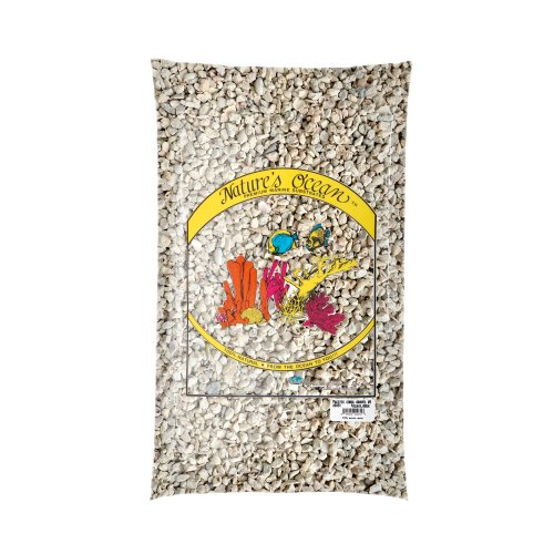 Nature's Ocean Pacific Coral Gravel for Aquarium, 10-Pound