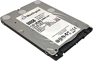 "MaxDigitalData 500GB 8MB Cache 5400RPM SATA 6.0Gb/s (7mm) 2.5"" Notebook Hard Drive (MD500GLSA854S) - 2 Year Warranty"