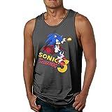 GOOOET Men's Sonic The Hedgehog 3 Tank Top Gym T-shirts