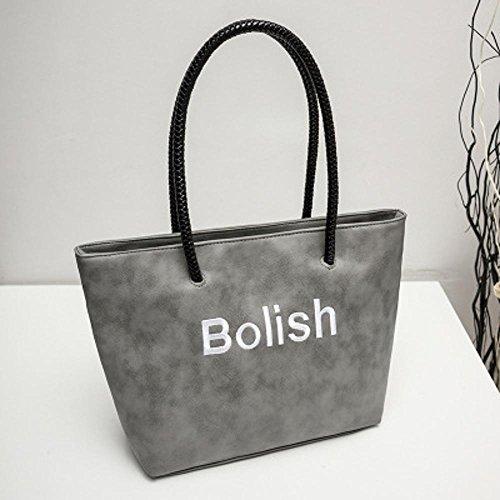 Aoligei Femmes loisir de sac à main unique épaule sac spécial fashion version coréenne du simple sac femme B