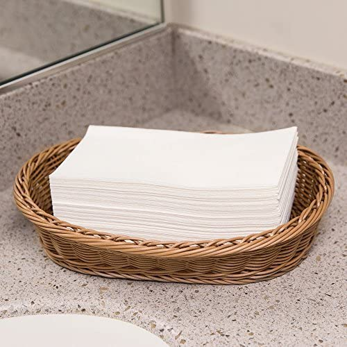 Amazon Com Disposable Hand Towels For Bathrooms Folded Linen Feel Guest Towels Also For Dining Weddings Parties Special Occasions 100 Pack Home Kitchen