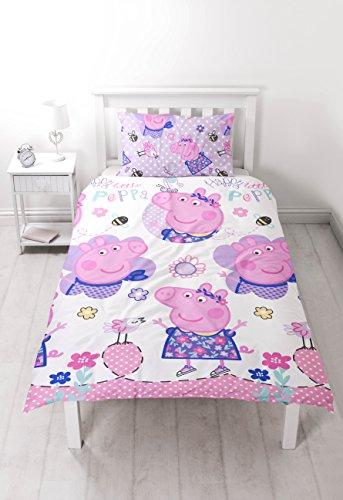 Peppa Pig Happy Reversible Single Duvet