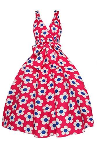 Looking Glam - Vestido - para mujer Rojo