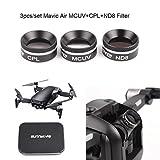 Sunnylife New Camera Lens Filter MCUV CPL ND8 Filter For DJI MAVIC AIR Drone
