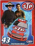 'AUTOGRAPHED 2013 Richard Petty #43 STP Racing A RACER''S EDGE (Petty Motorsports) SIGNED NASCAR Promo 8X10 Hero Card w/ COA '