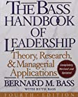 For more than three decades, Bernard Bass's handbook has been indispensable bible for every serious student of leadership.For thirty-three years and through three editions, Bass & Stogdill's Handbook of Leadership has been the indispensab...