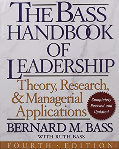 Handbook of Leadership