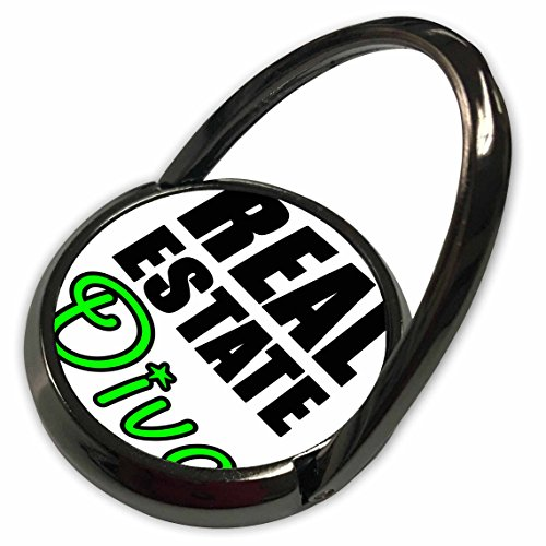 3dRose EvaDane - Quotes - Real Estate Diva Green - Phone Ring (phr_223951_1)