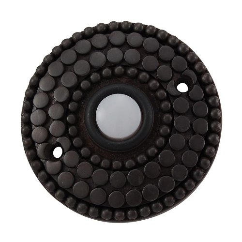 Vicenza Designs D4015 Tiziano Doorbell, Oil-Rubbed Bronze