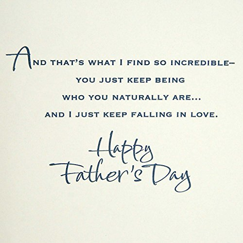 Hallmark Father's Day Greeting Card for Husband or Significant Other (I Keep Falling in Love) Photo #5