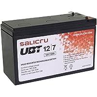 Salicru UBT 12/7 Batería AGM Recargable de 7 Ah / 12 V - Baterías para Sistemas ups (Sealed Lead Acid (VRLA), Negro, 7 Ah, 12 V, 1 Pieza(s), 5 año(s))